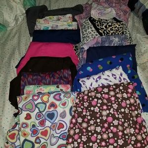 M/l scrub top lot